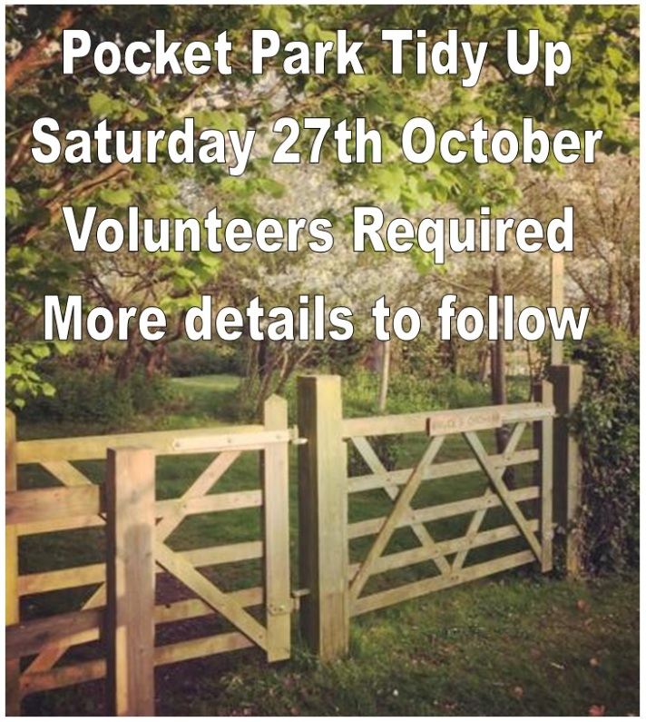 Pocket Park Tidy Up